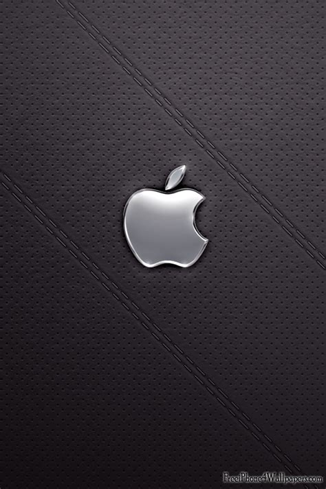 wallpaper apple leather 100 hd iphone 4 wallpapers top design magazine web