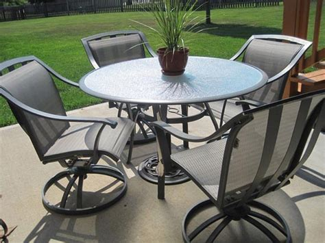 Best Round Patio Table And Chairs Furniture Black Wrought