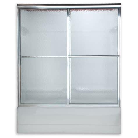 American Standard Am00758 436 Hammered Glass Prestige Euro Hammered Glass Shower Door