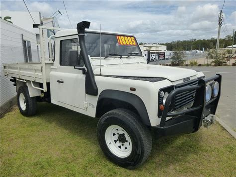2019 Land Rover Defender Ute by 2000 Land Rover Defender Td5 130 Single Cab Ute Sold