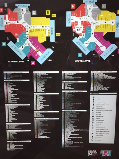 layout of square one mall brea mall directory you can see all the available stores