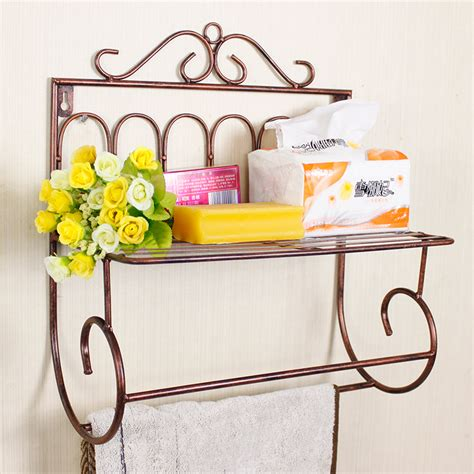 wrought iron bathroom towel bars bathroom towel rack storage rack wrought iron towel bar