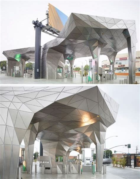 origami los angeles origami inspired architecture 14 geometric structures