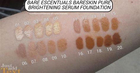 La La Pro Concealer Warm Sand Original bareminerals bareskin swatches i am seriously buying 3