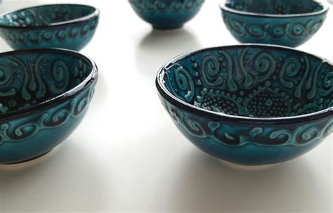 ceramic ottoman ceramic ottoman green blue ceramic clay twist knot