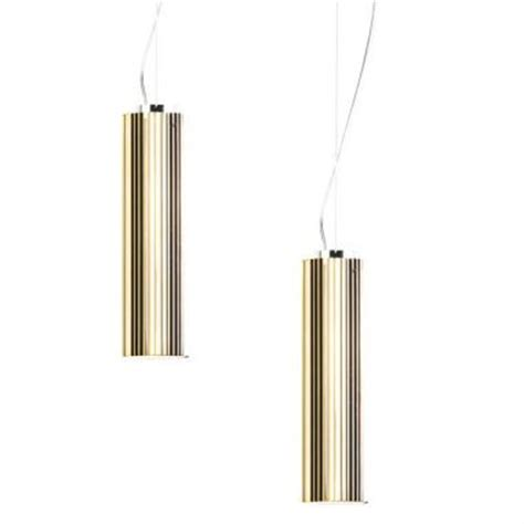 Kitchen Bath Collection rifly modern suspension light with metallic gold finish