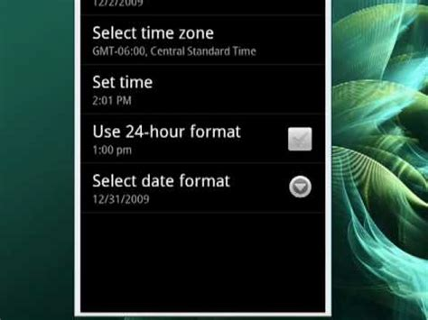 format date rails 4 how to change the date format on your android phone youtube
