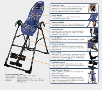 teeter hang ups ep 560 inversion table