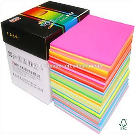 colored printer paper colored letter paper tops prism plus colored pads
