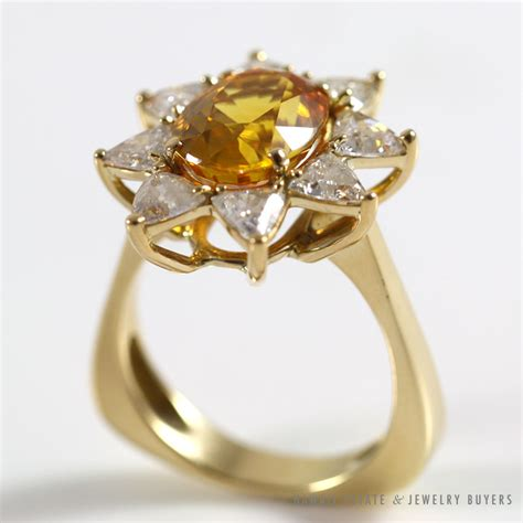 Orange Sapphire 6 30ct jade estate jewelry archives page 4 of 26 hawaii