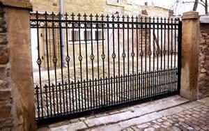 Wrought Iron Sliding Gates » Home Design 2017