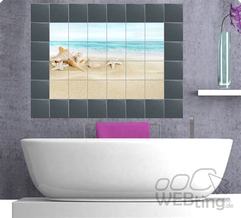 Badezimmer Fliesen Folie by Fliesenaufkleber Fliesenbild Fliesen Aufkleber Sticker