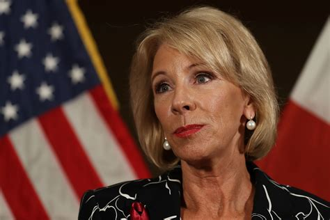betsy devos interview betsy devos struggled with questions on her education work