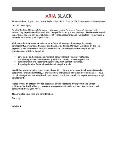 Financial Audit Management Letter manager cover letter exles for accounting finance