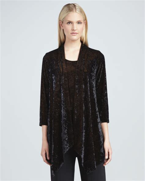 Crushed Velvet Jacket caroline crushed velvet jacket s