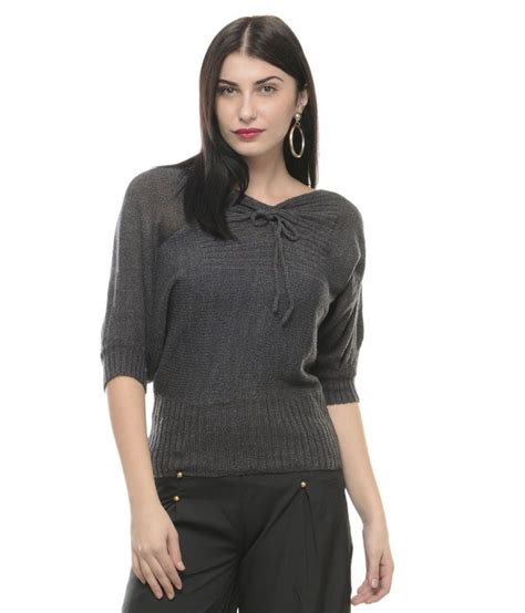 Mayra Grey buy mayra gray woollen pullovers at best prices in