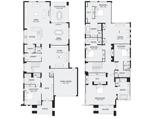 Metricon Floor Plans Single Storey | 17 best ideas about double storey house plans on pinterest