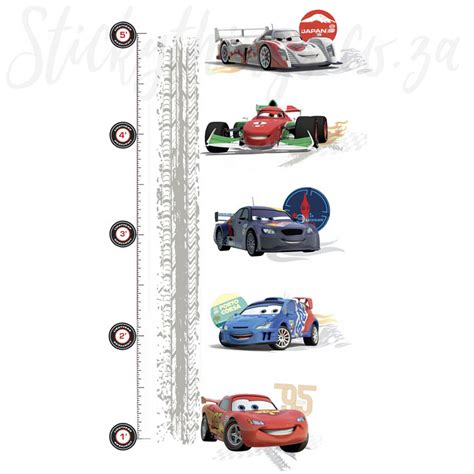 wall sticker growth chart disney cars growth chart wall sticker growth chart decal