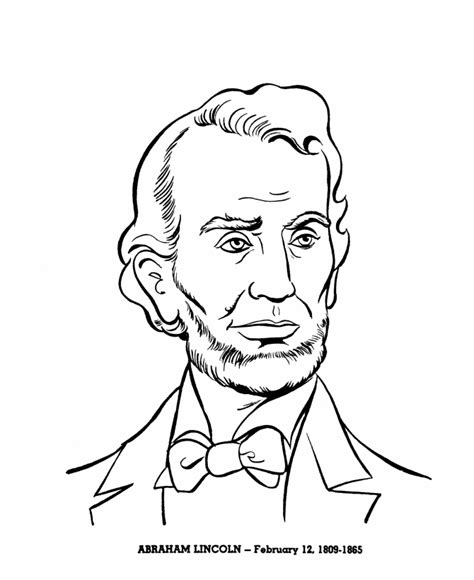 abraham lincoln coloring pages for kindergarten bluebonkers us presidents coloring pages president