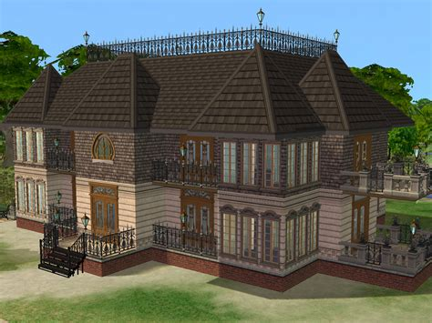 Sims 2 Houses by Parsimonious The Sims 2 Houses