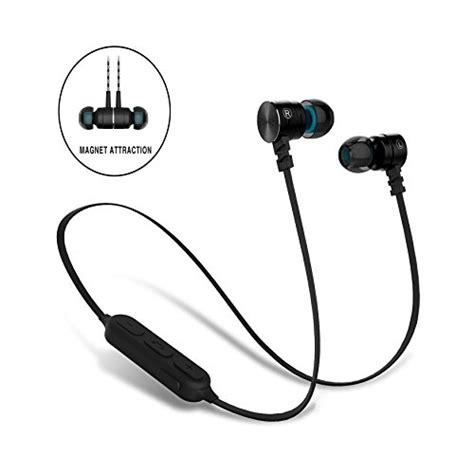 Power Sport Bluetooth Earphone With Microphone Kin 77 bluetooth earbuds sweatproof magnet attraction v4 0 wireless bluetooth haedphones sport