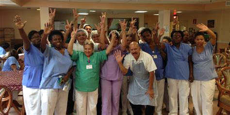 1199seiu florida members at plaza health network ratify