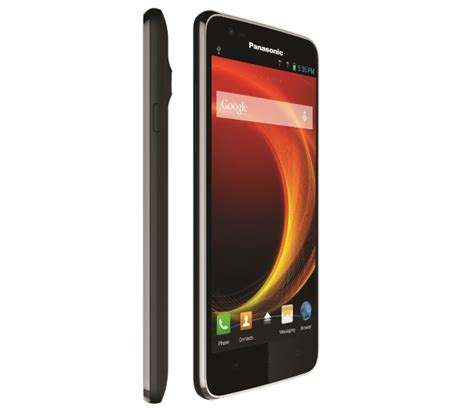 Hp Android Panasonic Eluga panasonic eluga a with snapdragon 200 debuts in india for inr 9 490