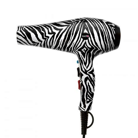 Hill Hair Dryer Zebra haito zebra print hair dryer direct hairdressing scissors