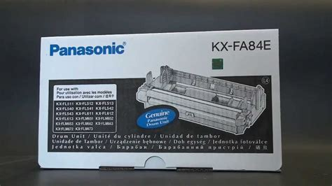 Drum Unit Cartridge Compatible Panasonic Kx Fa84e For Us Berkualitas 2 panasonic drum unit kx fa84e