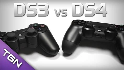 dualshock 4 vs dualshock 3 controller comparison ps4 ps3