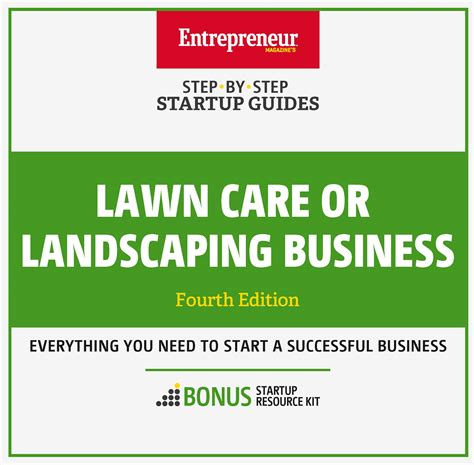 start a landscaping business lawn care or landscaping business