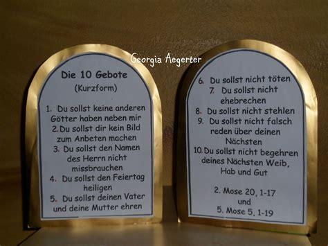 10 gebote tafel bibelverse auswendig lernen die 10 gebote