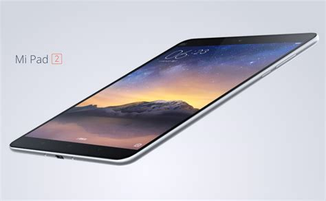 Tablet Xiaomi Mi Pad 2 xiaomi mi pad 2 arrives with intel atom soc metal 8 inch display phonebunch