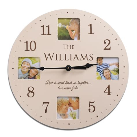personalized clocks bing images