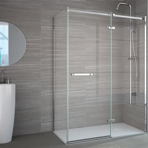 Merlyn Shower Doors Merlyn 8 Series Frameless Shower Enclosure Side Panel 900mm