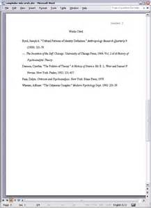 Sample essay formatted in mla style