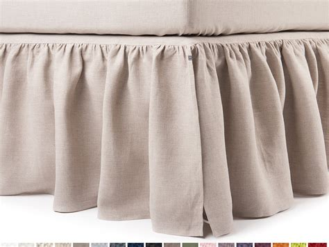 dust ruffle for queen size bed linen dust ruffle queen bedskirt king bed skirt double size