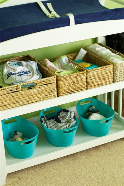 changing table organization ideas best 20 changing table organization ideas on