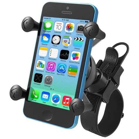 ram mount cell phone holder ram mounts ez rail mount with universal x grip cell