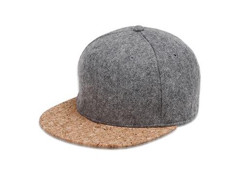Snapback Topi Hiphop Dewasa Wool Grey Black 1 cork and wool snapback hat cap onyx bunny
