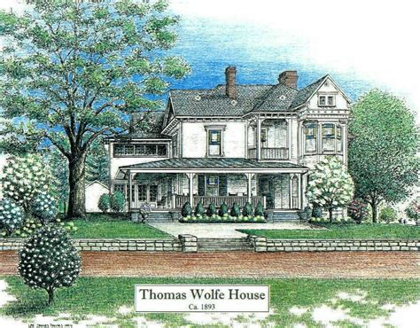 thomas wolfe house asheville north carolina historic buildings