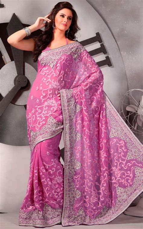 photos of trendy styles with chiffon new trendy party wear chiffon saree designs in fashion