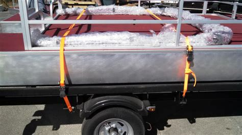 securing your 12 ft pontoon to your trailer - Securing Pontoon Boat To Trailer