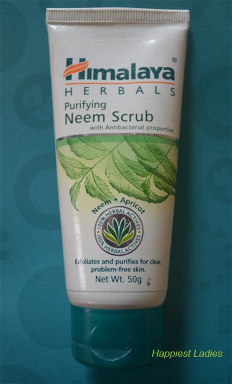 Himalaya Neem Scrub himalaya herbals purifying neem scrub review happiest
