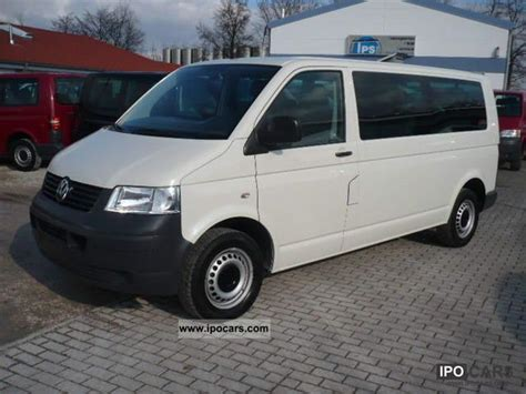 2008 volkswagen t5 2 5tdi 8 seater manual air