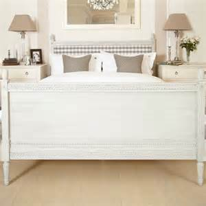 gustavian bed 135cm nordic style