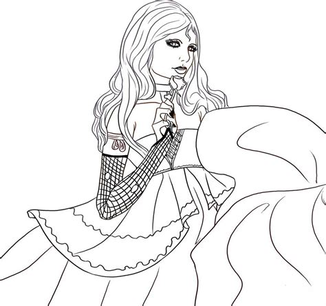 vire girl coloring pages to printable