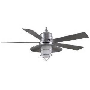 galvanized outdoor ceiling fan home decorators collection grayton 54 in indoor outdoor