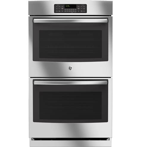 how to install a wall oven in a base cabinet ge 174 30 quot built in double wall oven jt3500sfss ge appliances