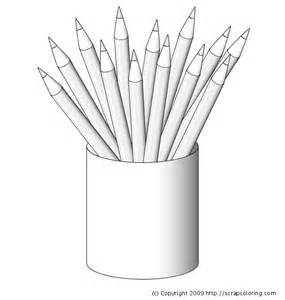 colored pencil coloring pages pencils coloring page